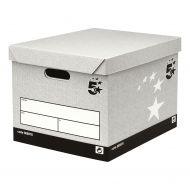 5 StarFacilities StorageBox GreyFSC Pk10 (Pack 10)