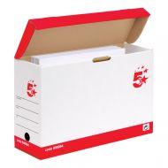 5 Star FSC Transfer Case Oyster White (Pack 20)