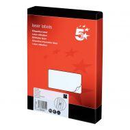 5 Star Office MultiP Lbls 63.5x38.1 5250 (Pack 1)