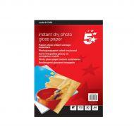 5 Star Prem Photo Gloss Paper 175gsmPk50 (Pack 1)