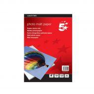 5 Star Premier Matt Paper 165gsm Pk100 (Pack 1)