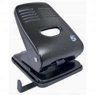 5 Star 2Hole 40sheet Punch Metal Black (Pack 1)