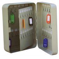 5 Star Key Cabinet 48 Key Capacity (Pack 1)