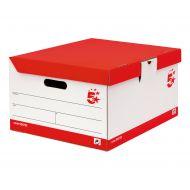5 Star FSC Trunk Red & White Pk10 (Pack 1)