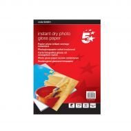 5 Star PhotoGloss Ppr 10x15cm175gsm pk50 (Pack 1)
