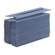 5 Star H/Towel C-Fold 1Ply Blue 2880Shts (Pack 1)