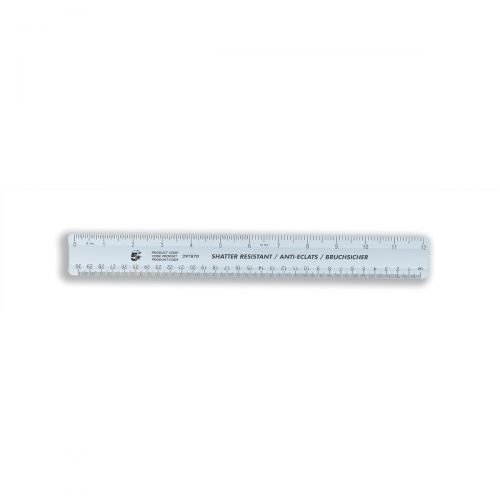 5 Star Office Ruler Plastic 300mm Shprf (Pack 10)