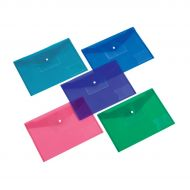5 Star Office Diskette Pocket A4 Ast Pk5 (Pack 1)