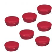 5 Star Magnets 20mm Pk10 Red (Pack 1)