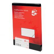 5 Star Office MultiP Lbls 99x57 1000Lbls (Pack 1)