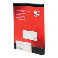 5 Star Office MultiP Lbls 99x93 600 Lbls (Pack 1)
