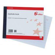 5 Star Duplicate Book 105x130mm (Pack 1)