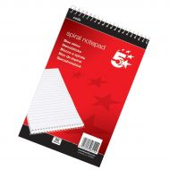 5 Star Shorthand Pad A5 Ruled 200 Pages (Pack 1)