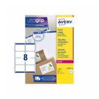 Avery Parcel Labels 8per Sheet White L7165-250 [2000 Labels]