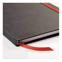 Black By Black n Red Business Journal Hard Cover Ruled and Numbered