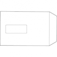 C5 Envelopes Pocket Press Seal Window 90gsm White