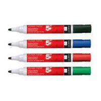 Drywipe Marker Xylene/Toluene-free Bullet Tip Wallet Ass [Pack 12]