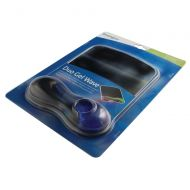 Kensington Duo Gel Wave Mouse Pad with Wrist Rest Blue/Smoke