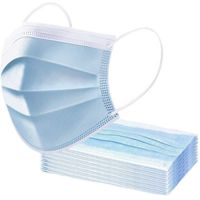 3ply surgical paper masks disposable  - 50Pack