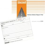 Chartwell Pad Tacho Vehicle DefectReport (Pack 1)
