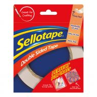 Sellotape Dble Sided 12mmx33M 1447057 (Pack 12)