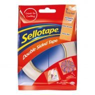 Sellotape Dble Sided 15mmx5M  118 5501 (Pack 12)