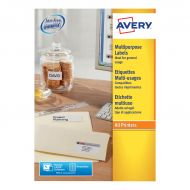 Avery FSC M/purpose Label 105x37Wht 3484 (Pack 1)