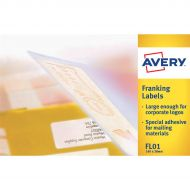 Avery FSC Franking Lables FLO1 Bx1000 (Pack 1)