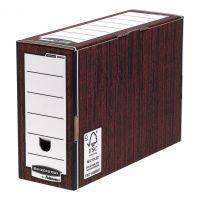 BBox FSC Prem Transfer File Woodgrain (Pack 10)