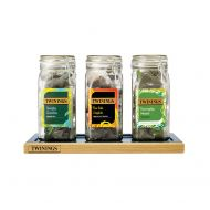 Twining Kilner Jar set of 3&Tray (Pack 1)