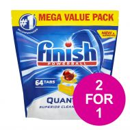 BOGOF Finish Quantm Max Lemon 64 Jan3/20 (Pack 1)
