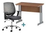 Home Working Furniture Premium Bundle  (Pack 1)