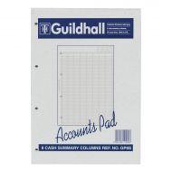 Guildhall Gp8SZ Accounts Pad  1589 (Pack 1)