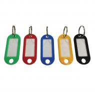 5 Star Facilities Key Fobs Red (Pack 100)
