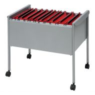 Rexel Filing Trolley for 100 Files Grey (Pack 1)