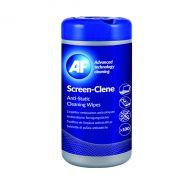 AF Screen-Clene Anti-Static Wipes Pk100