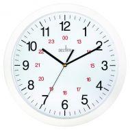 Acctim Metro 12in Wht Wall Clock