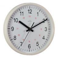 Acctim Metro 14in Wht Wall Clock