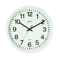 Acctim Controller 368mm White Wall Clock