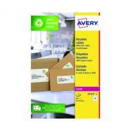 Avery Rec Labels 16 P/Sht Wht Pk240