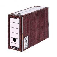 Bankers Box 127mm T/File W/Grain P5