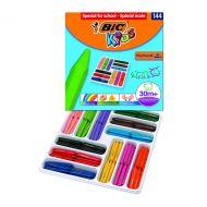 Bic Plastidecor Triangle Crayon Pk144
