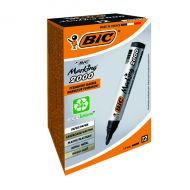 Bic 2000 Bullet Perm Marker Black Pk12