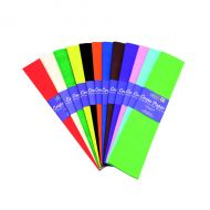 Bright Ideas Astd Crepe Paper 500mm Pk12