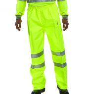 Hi-Viz Trousers EN ISO20471 S/Yellow Lge