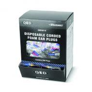Qed Corded Ear Plug Pk200