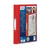 Elba Vision 25mm 2-Ring Binder A4 Red