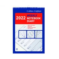 Collins Weekly Notebook Diary 2022