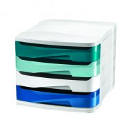 Riviera by CEP 4 Drawer Unit Multi