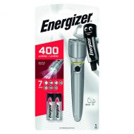 Energizer Fl Metal LED Torch 2xAA Silver